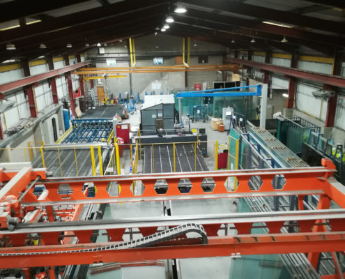 Factory, Manifacturing Led Lighting Installation