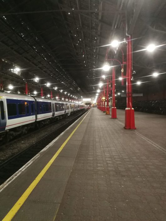 One of many LED installations for Chiltern Railways achieving significant carbon savings.