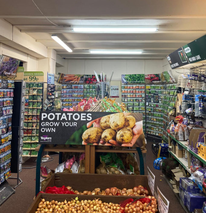 LED lighting installation offers improved shopping experience at Heathhall Garden Centre, Dumfries.
