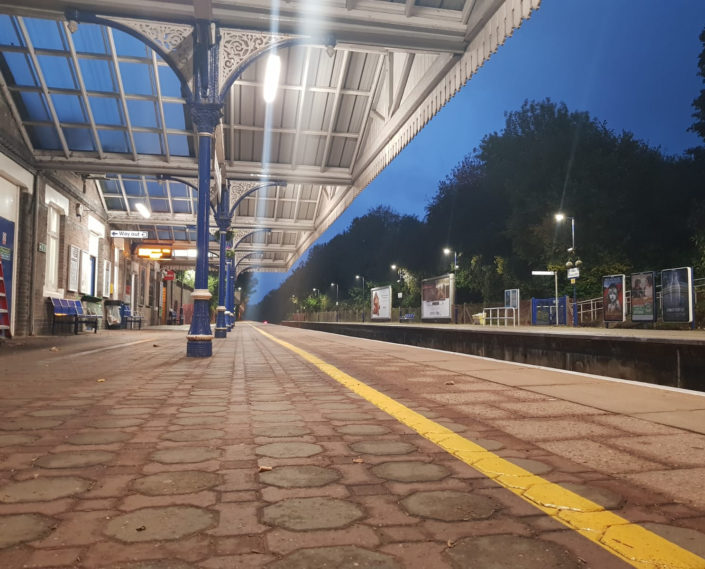 Lighting installation offers energy savings for Chiltern Railways at Great Missenden station.