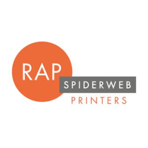 Logo - RAP Spiderweb Printers